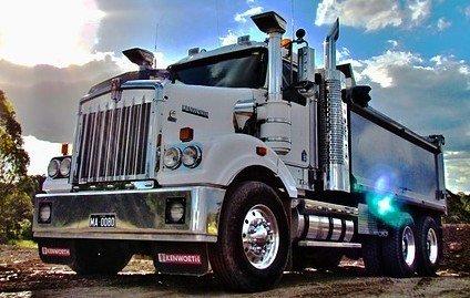 seguro camion de servicio público